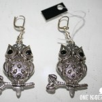 Ariaba owl earrings