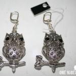 Ariaba owl earrings