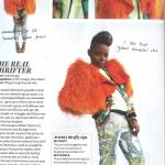 Arieta Mujay in Instyle Magazine