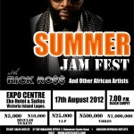 rick Ross Live in Lagos