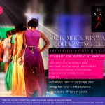 Music meets runway MODEL CASTING