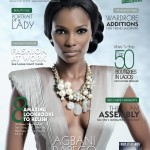 Agbani Darego Covers Complete Fashion OCtober issue