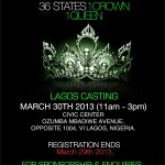 Lagos Flyer Miss Nigeria