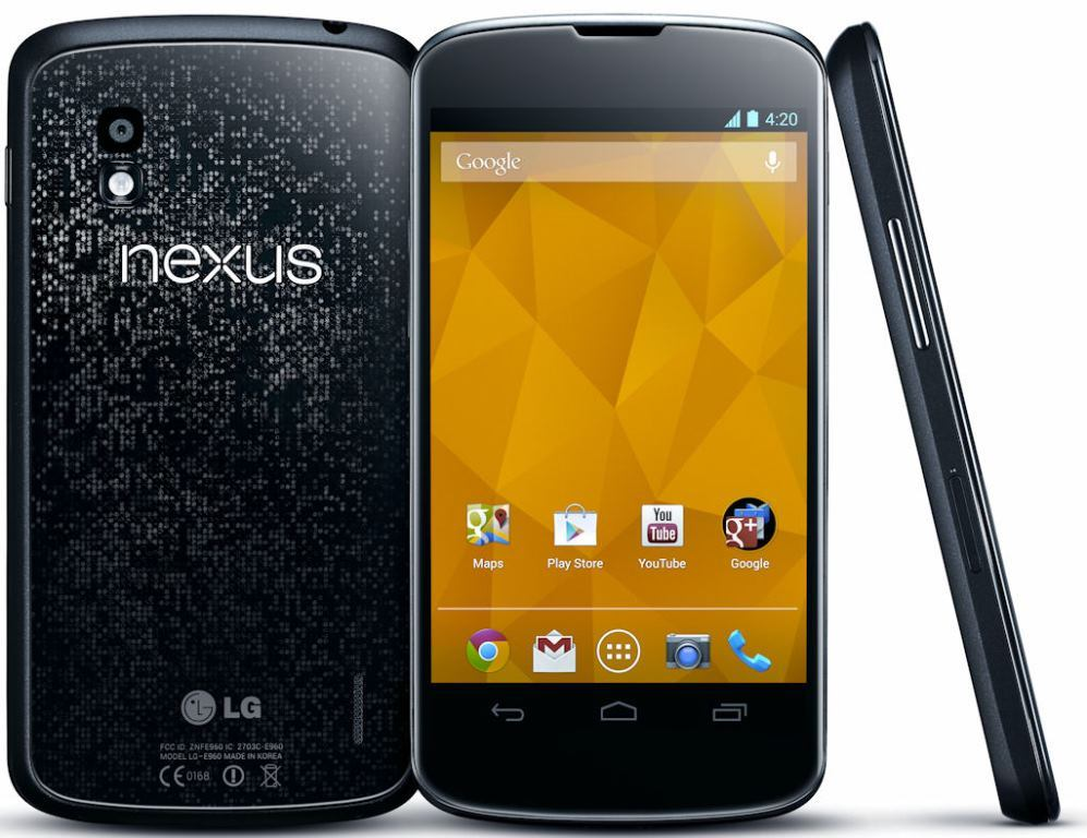 LG Nexus 4 Stock Android Phone