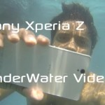 Video: Sony Xperia Z UnderWater Camera Videos Recorded while Swimming & Used as Ball